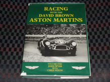 RACING WITH THE DAVID BROWN ASTON MARTINS Vol.1 (Nixon & Wyer)